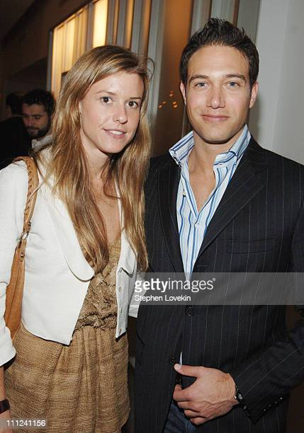 Eleanor Ylvisaker and Eric Villency during Brian Reyes Clebrates His Spring 2006 Collection Hosted by Maurice Villency at Maurice Villency Showroom...
