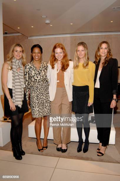 Eleanor Ylvisaker Bonnie Morrison Jessica Joffe Ferebee Taube and Alexandra Fritz attend CHLOE VOGUE Host a Preview of the Spring/Summer 2010...
