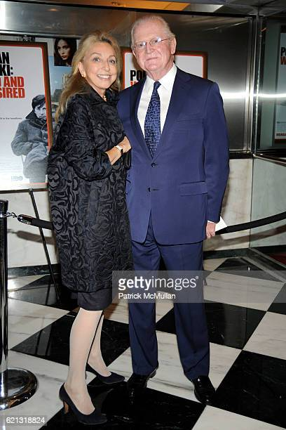 Eleanora Kennedy and Michael Kennedy attend HBO Documentary Films' New York Premiere of ROMAN POLANSKI Wanted and Desired at The Paris Theater on May...