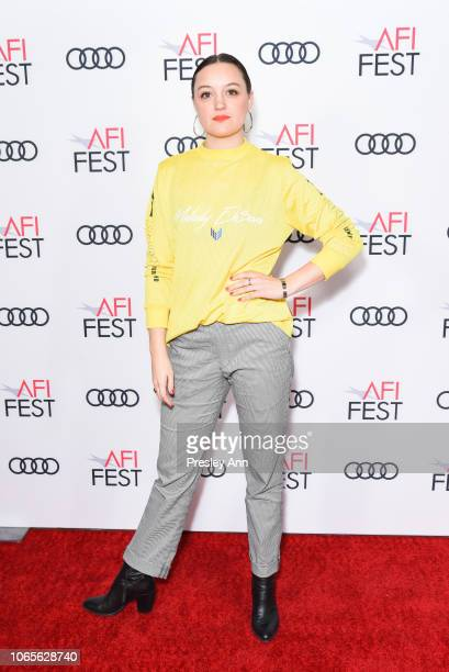 Eleanore Pienta attends AFI FEST 2018 Presented By Audi Festival Filmmakers at TCL Chinese 6 Theatres on November 09 2018 in Hollywood California