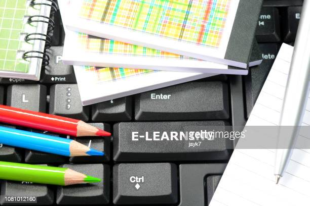 e-learning - distant stock pictures, royalty-free photos & images
