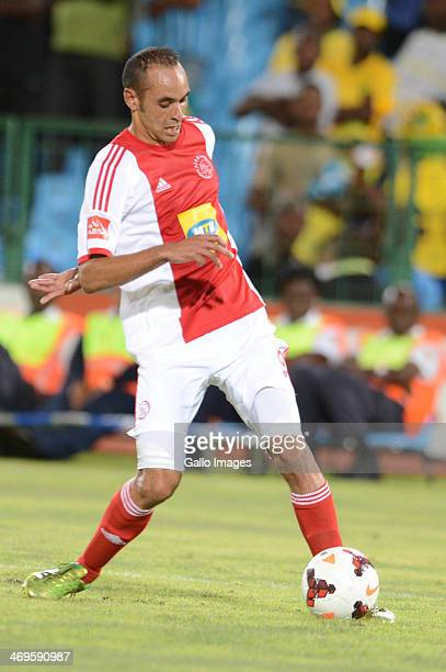 Eleazer Rodgers during the Absa Premiership match between Mamelodi Sundowns and Ajax Cape Town at Loftus Stadium on February 15 2014 in Pretoria...