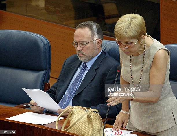 Elected on the lists of the Spanish Socialist Party Eduardo Tamayo and Maite Saez whose defection caused a major political crisis in the Madrid...