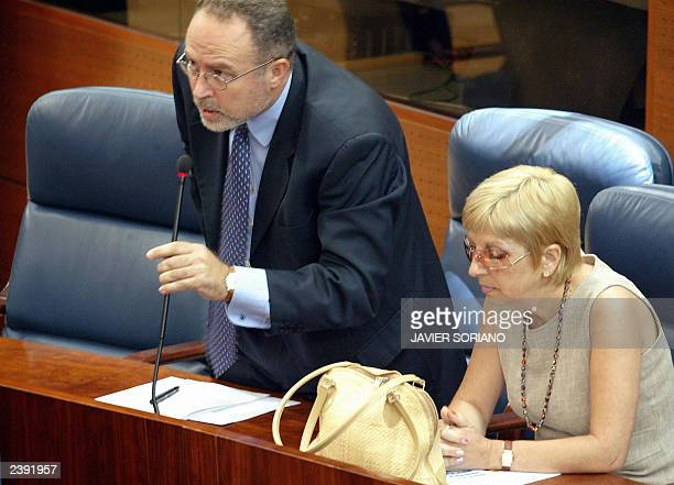 Elected on the lists of the Spanish Socialist Party Eduardo Tamayo and Maite Saez whose defection caused a major political crisis in Madrid promise...