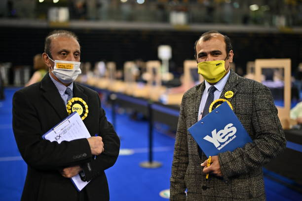 GBR: Holyrood Election Count and Declarations Take Place In Glasgow