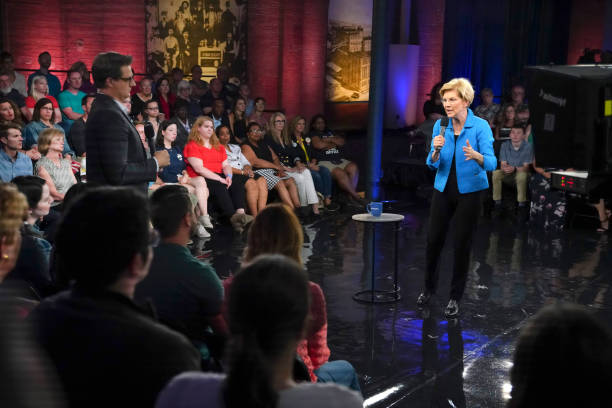 "IN: MSNBC's ""2019 Election Coverage"" Elizabeth Warren Town Hall"
