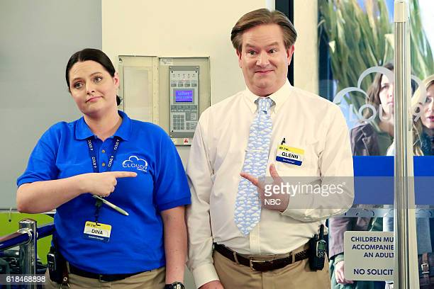 SUPERSTORE 'Election Day' Episode 208 Pictured Lauren Ash as Dina Mark McKinney as Glenn