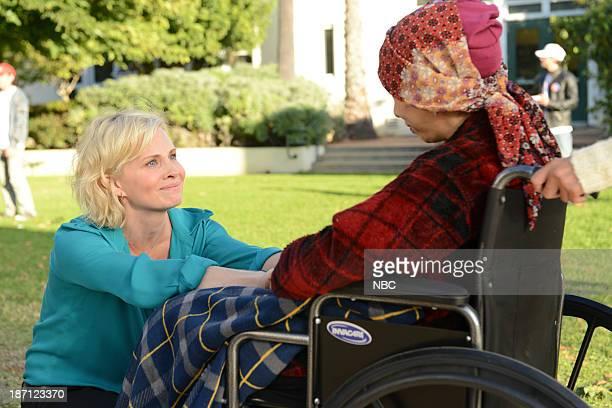 PARENTHOOD Election Day Episode 509 Pictured Monica Potter as Kristina Braverman Rose Abdoo as Gwen