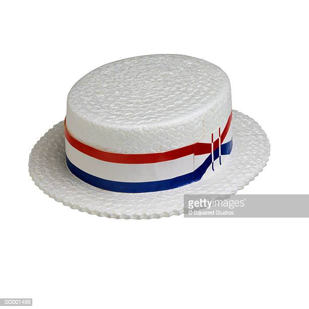 election hat - straw boater hat stock pictures, royalty-free photos & images