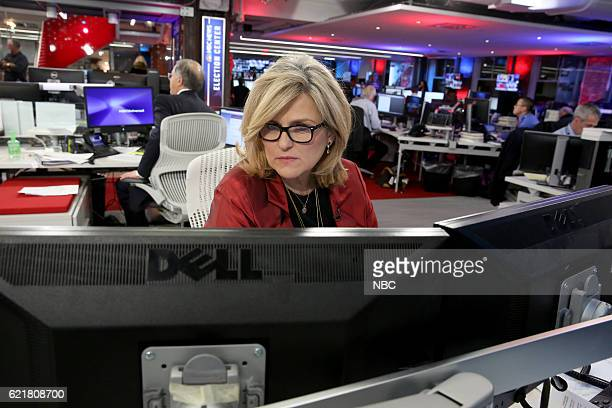 COVERAGE Election Night 2016 Pictured Cynthia McFadden Senior Legal and Investigative Correspondent NBC News on Tuesday November 8 2016 in New York