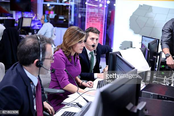 COVERAGE Election Night 2016 Pictured Hallie Jackson NBC News Correspondent on Tuesday November 8 2016 in New York