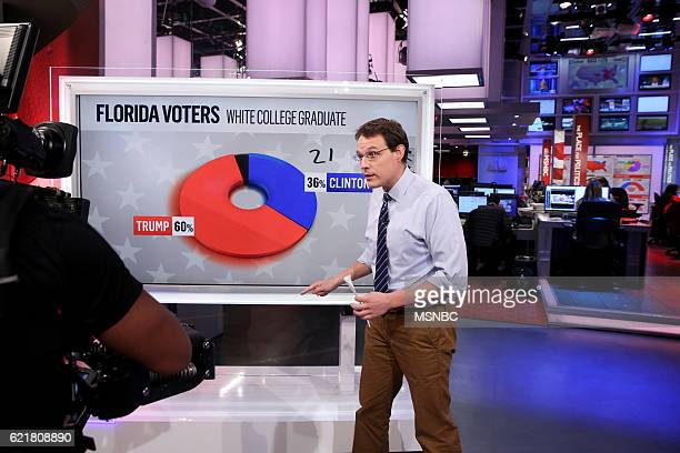 Election Night 2016 -- Pictured: Steve Kornacki, MSNBC Host and Political Correspondent on Tuesday, November 8, 2016 from New York --