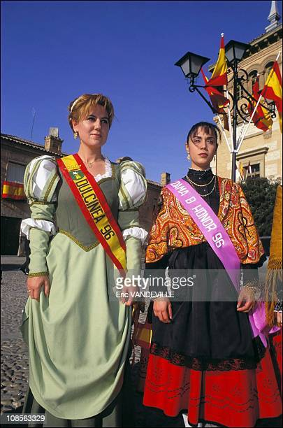 Election of Dulcinea in Consugrea in Campo Criptana Spain in March 1997