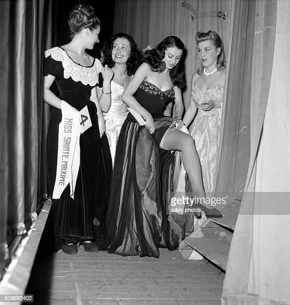 Election of Miss France In 1948