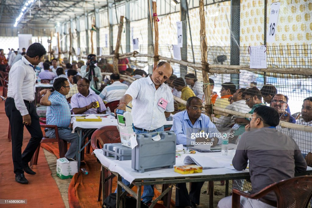 IND: Vote Counting In India's Election