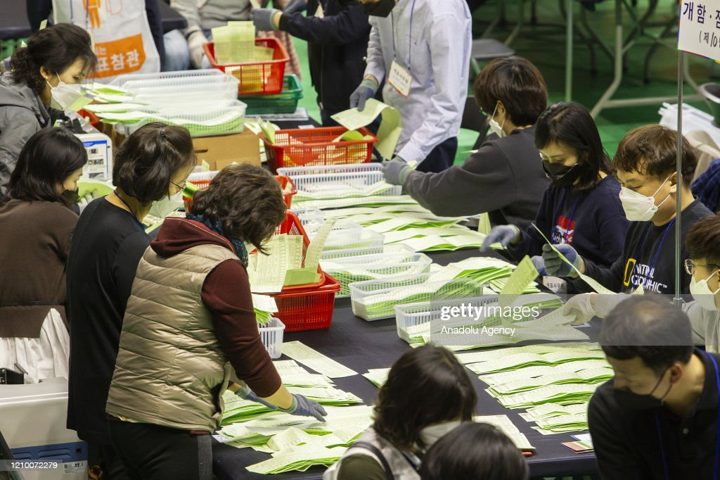21st General Election in South Korea : News Photo