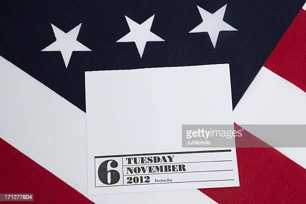 2012 eleição patrióticas página de calendário com espaço para texto - novembro azul - fotografias e filmes do acervo