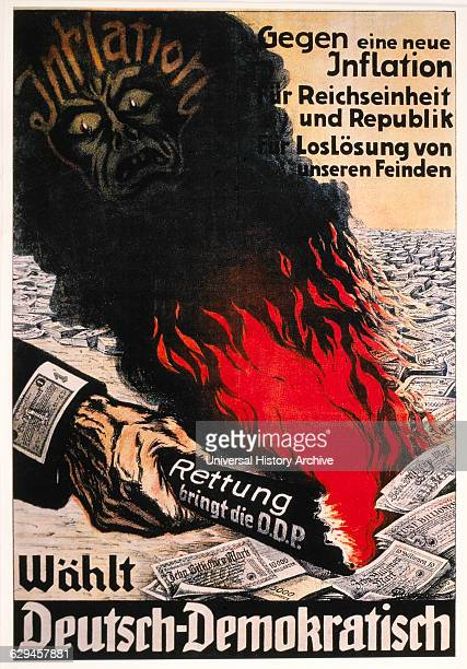 DDP Election Poster Germany 1924