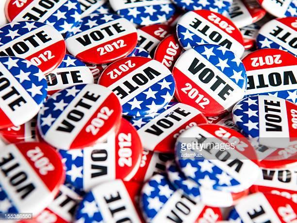Wahl Abstimmung Knöpfen