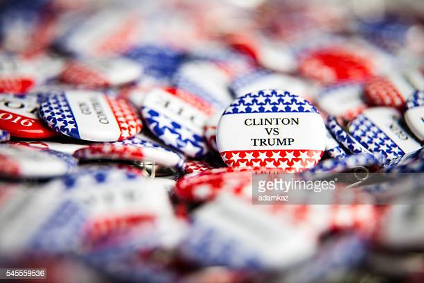 Election Vote Buttons