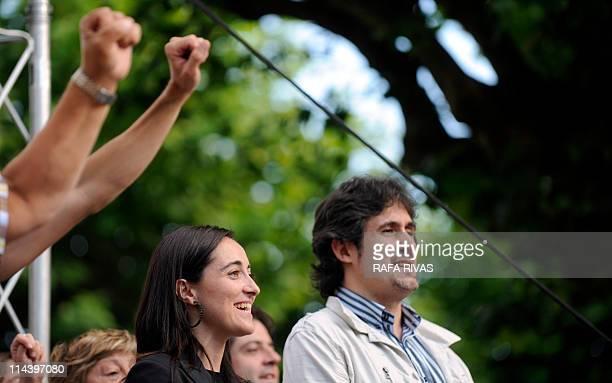 THIBAULT 'Elections au Pays basque Bildu à la pêche au vote radical à Bermeo'Basque proindependence political coalition Bildu candidate for mayor...