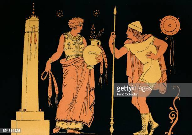 Electra and Orestes 1880 In Greek mythology Elektra was the daughter of King Agamemnon and Queen Clytemnestra and thus princess of Argos She and her...