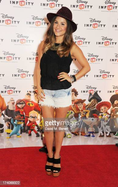 Electra Formosa attends an exclusive launch event for upcoming videogame 'Disney Infinity' released nationwide on August 23rd at Millbank Tower on...