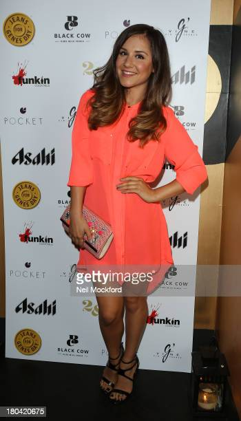 Electra Formosa attends the Pocket London a/w 2013 Launch Event at Morton's Club on September 12 2013 in London England