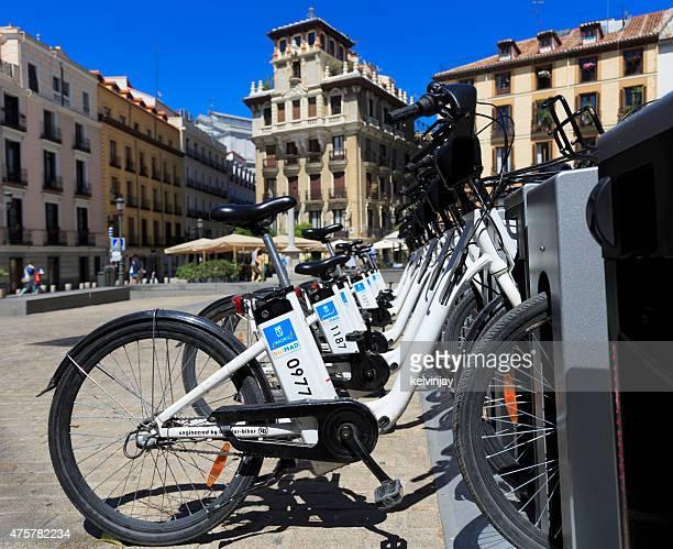 Electric BiciMAD bicicletas de carga en Madrid