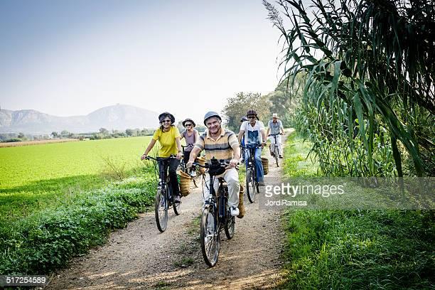 Electric paseo en bicicleta