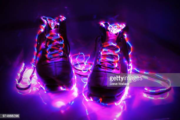 electric boots - sound wave stock pictures, royalty-free photos & images