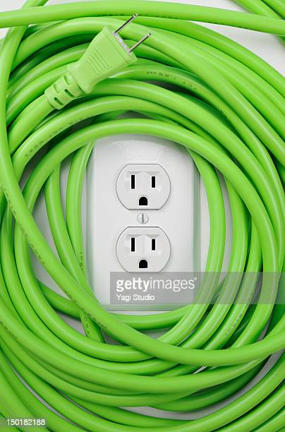 Electric cables and AC power outlet