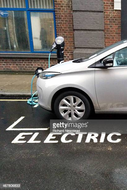 CONTENT] Electric car charging in allocated bay London 5th February 2014