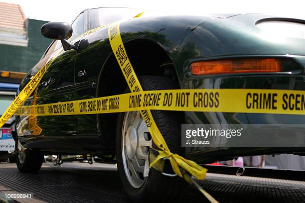 Ev1 Electric Car From The Film During 2006 Los Angeles Festival Who Killed
