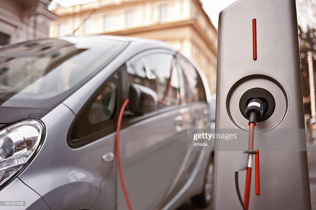 Ladestationen für Elektrofahrzeuge : Stock-Foto