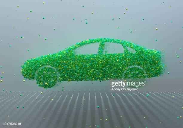 electric car - verkehrswesen stock-fotos und bilder