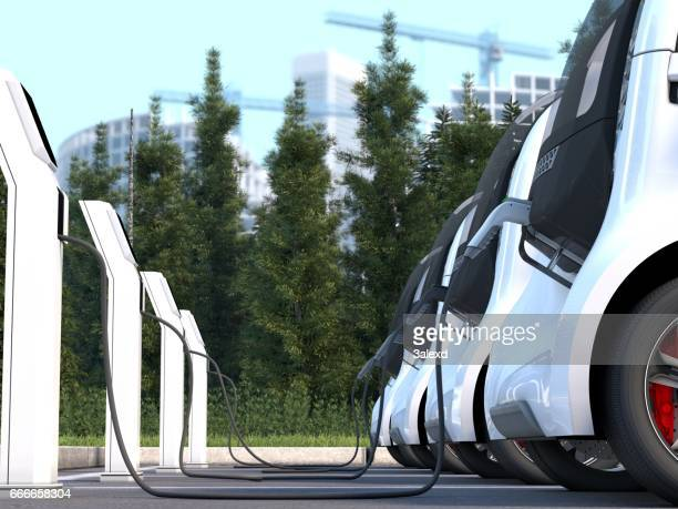 electric car - hybrid car stock photos and pictures