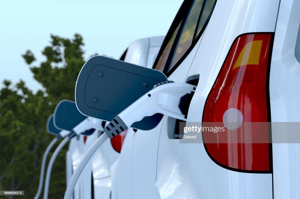 Electric Car : Stock Photo