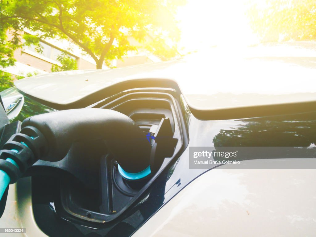 Electric car : Stock Photo