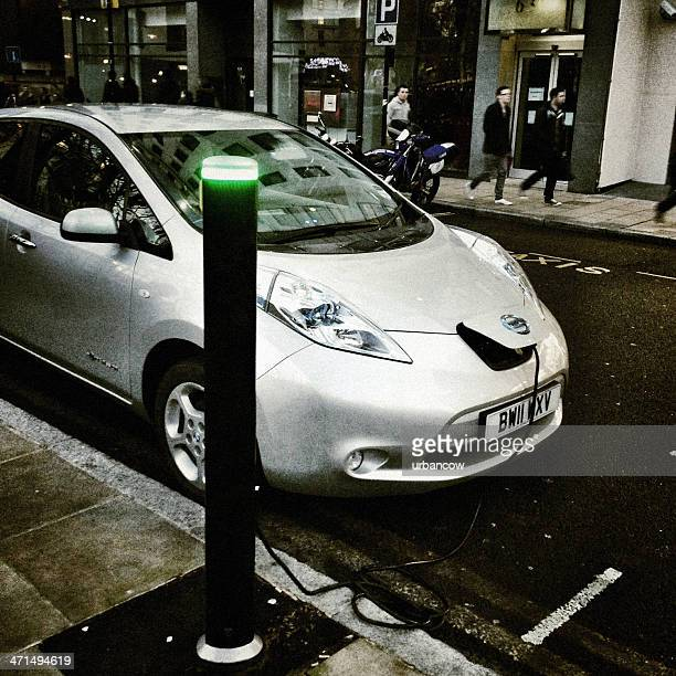 Electric car, recharging