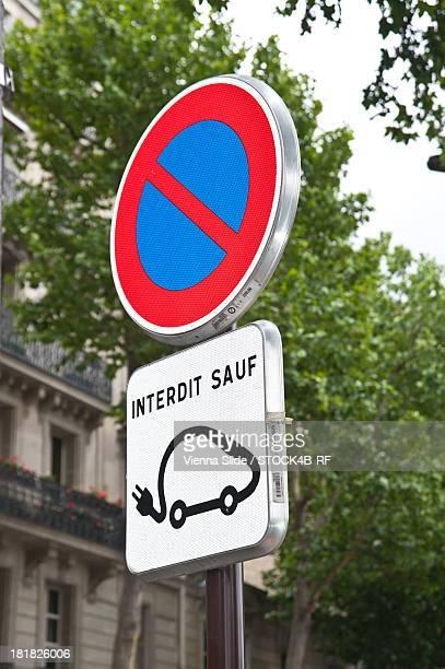 Electric car sharing service Autolib, Paris, France