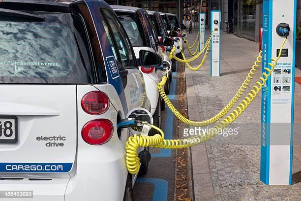 Electric Autos Parken