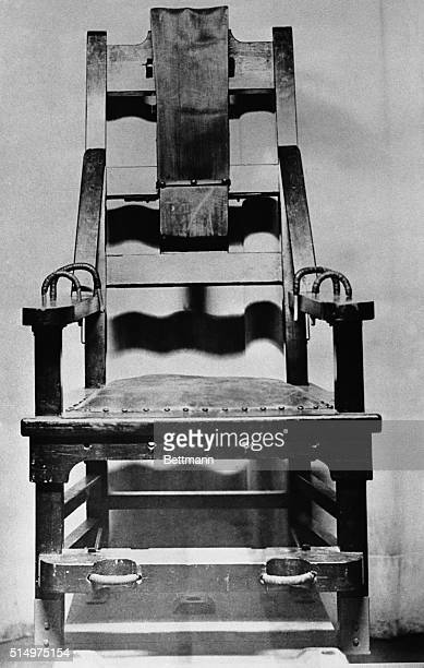 Electric Chair in Michigan City at the Indiana State Penitentiary