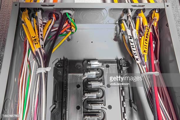 Electric Hin- und Rückfahrt Box mit Aufschrift wire