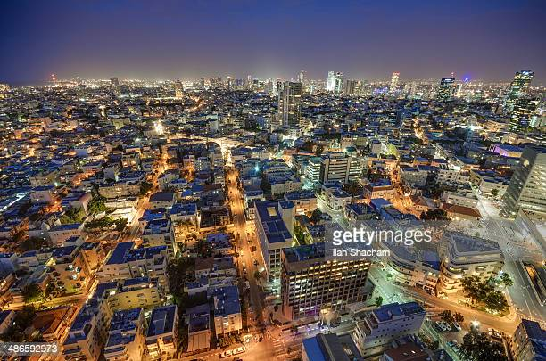 electric city - tel aviv stock pictures, royalty-free photos & images