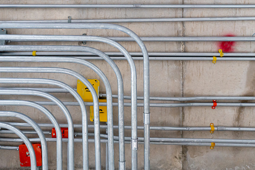 electric conduit and sanitary fire pipe work 1169701360