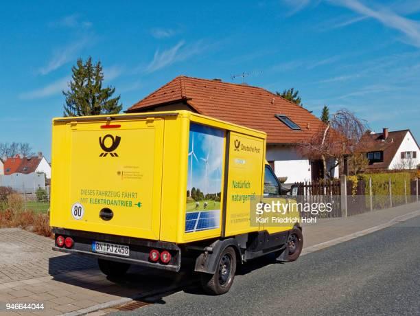 Deutsche Post-Elektrofahrzeug