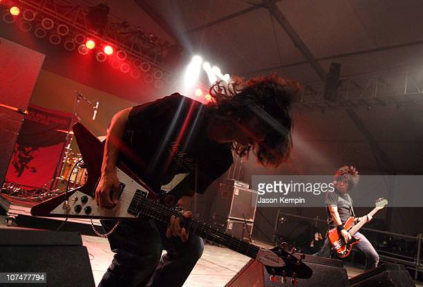 Electric Eel Shock during Bonnaroo 2006 Pre Festivities Electric Eel Shock at The Other Tent in Manchester Tennessee United States