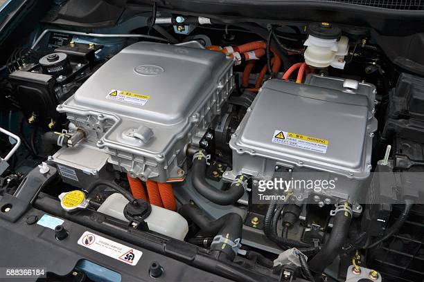 Electric engine in BYD vehicle