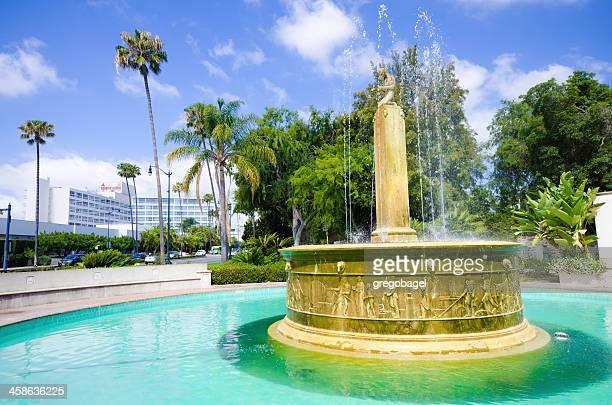 Electric Fountain in Beverly Hills, CA